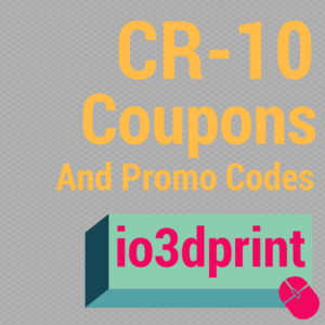 CR-10 3D Printer Coupons and Offers