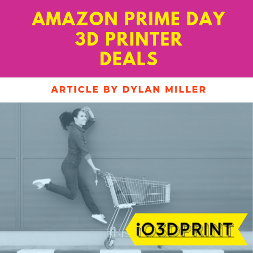 io3dprint banner amazon prime day deals on 3d printers