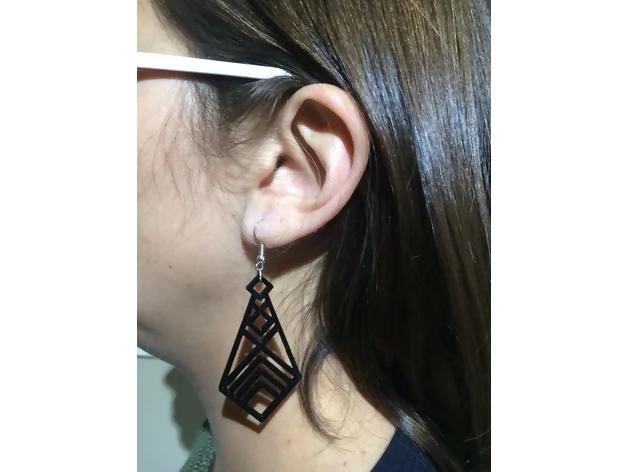Simple Earring - Thingiverse danielsalinas