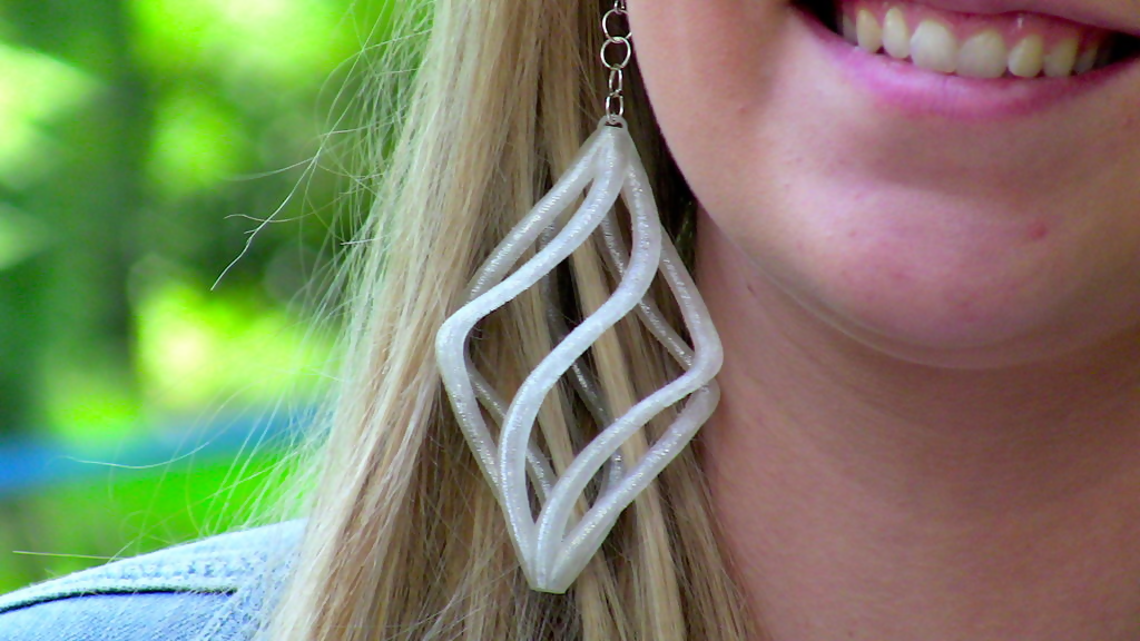 Spiral Earrings - Thingiverse latigerlilly