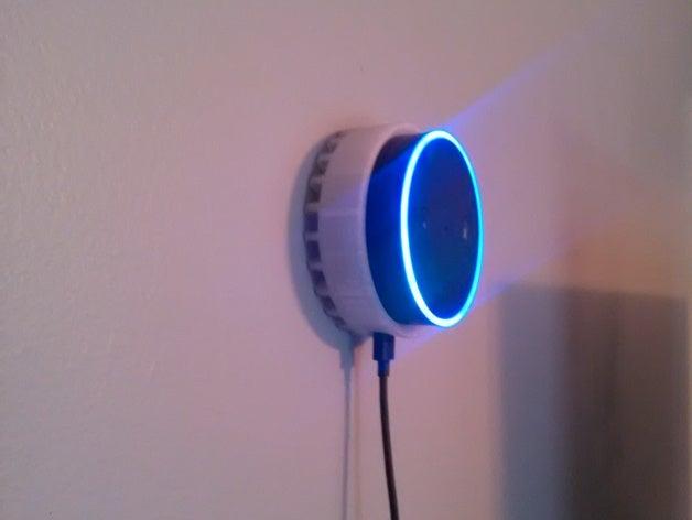 3D Printed Amazon Echo Dot Wall Mount