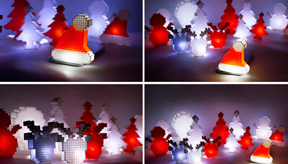 io3dprint-3d-printed-pixel-lights-decoration