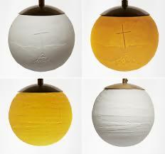 Beth Lewis Lithophane lights